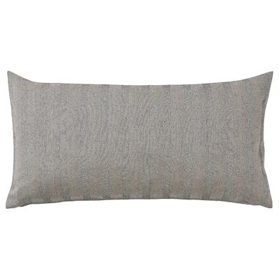 SAGALOVISA Cojín, negro/natural, 30x58 cm