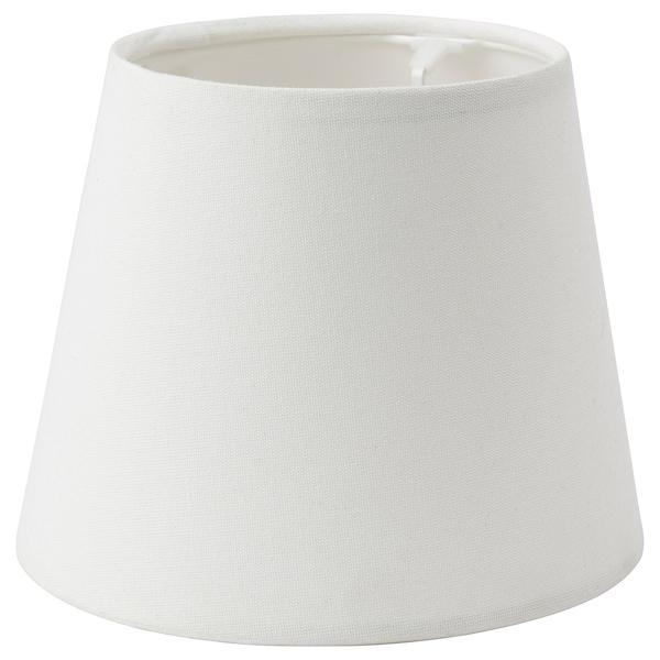 SKOTTORP Pantalla para lámpara, blanco, 19 cm
