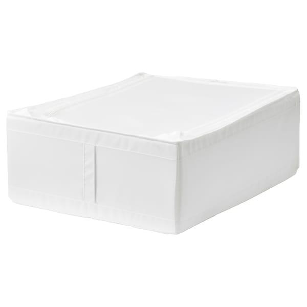 SKUBB Bolsa de almacenaje, blanco, 44x55x19 cm