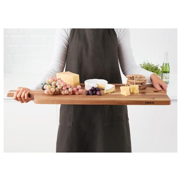 SMÅÄTA Tabla de cortar, acacia, 72x28 cm