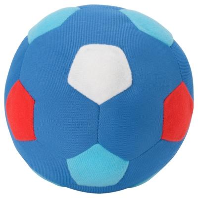 SPARKA Peluche, balón mini/azul rojo