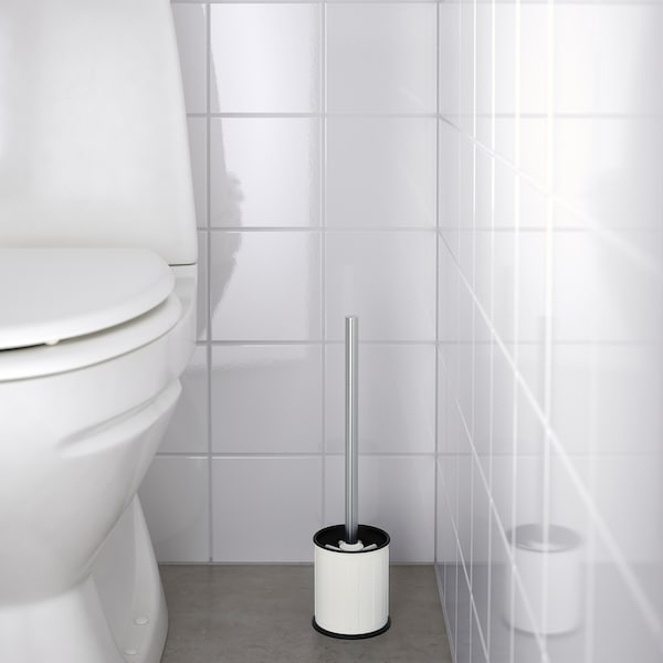 TOFTAN Cepillo para WC, blanco