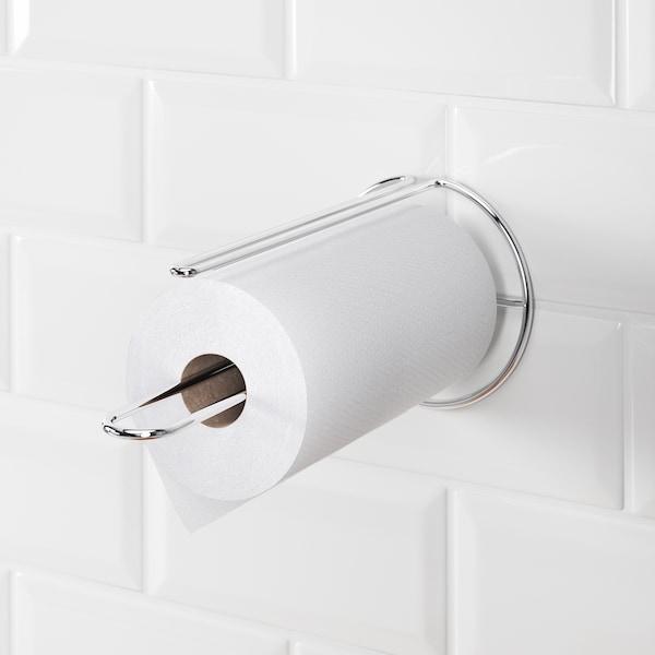 TORKAD Portarrollos de papel cocina, color plateado