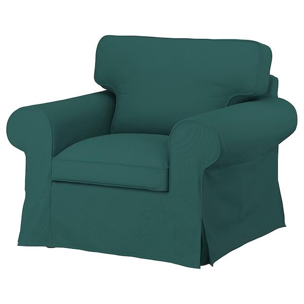 UPPLAND Funda para sillón, Totebo turquesa oscuro
