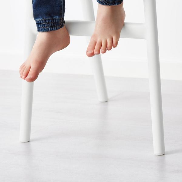 URBAN Silla alta para niños, blanco