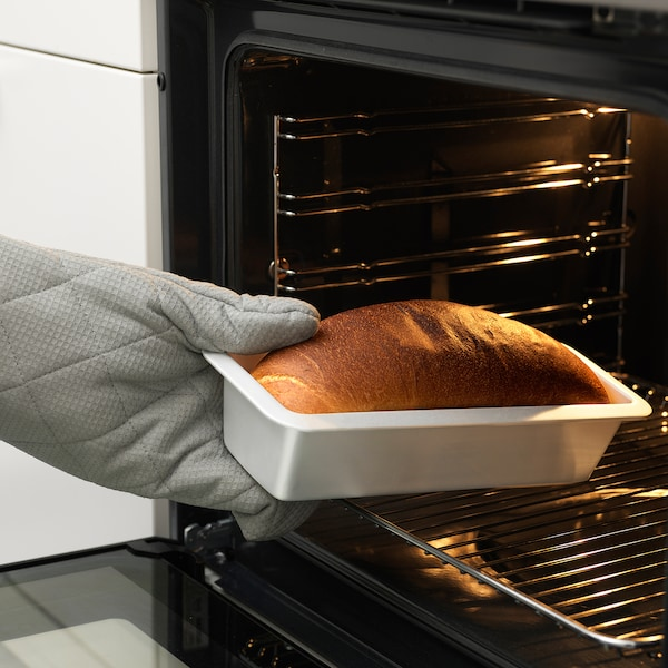 VARDAGEN Molde de pan, color plateado, 1.8 l