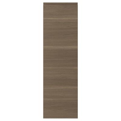VOXTORP Puerta, efecto nogal, 31x102 cm