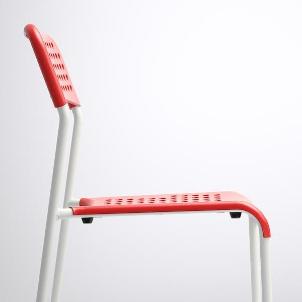 ADDE Chair, red/white