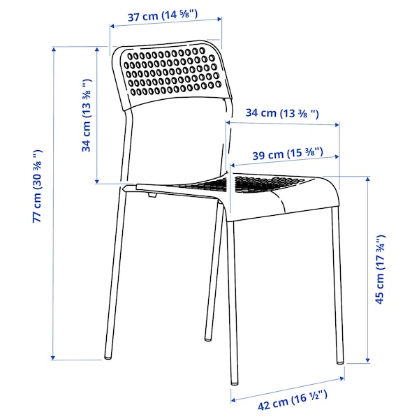 ADDE Chair, white