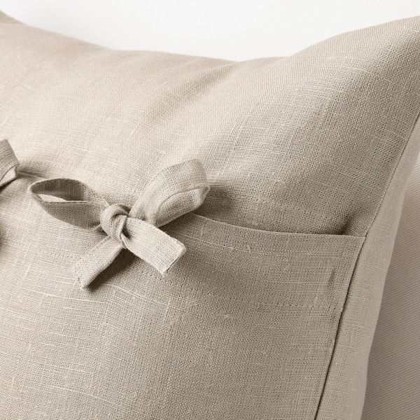 AINA Cushion cover, beige, 50x50 cm