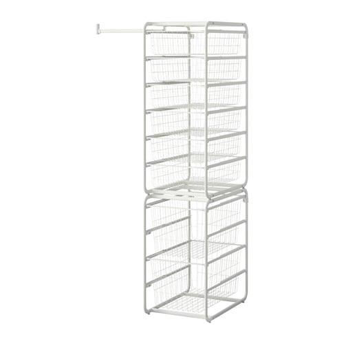 ALGOT Frame/wire baskets/rod IKEA