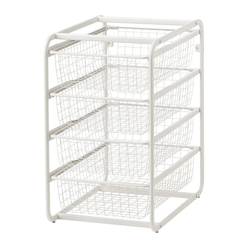 ALGOT Frame with wire baskets IKEA