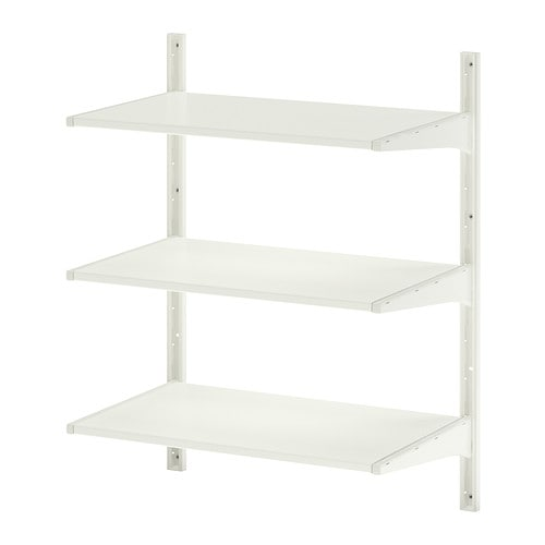 ALGOT Wall upright/shelves   You can build ALGOT in many ways to suit different things and spaces.
