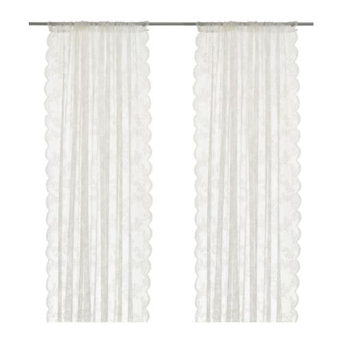 ALVINE SPETS Net curtains, 1 pair