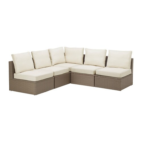 ARHOLMA Corner sofa 3+2, outdoor