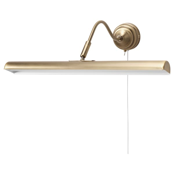 ÅRSTID LED picture lighting, brass-colour