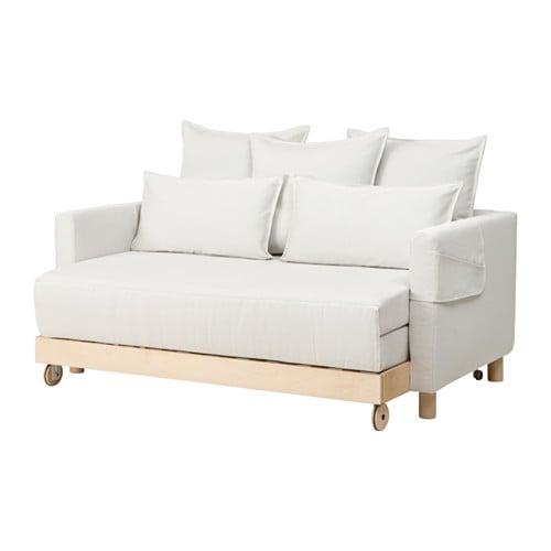 Asken Set Sofa Bed Finnsta White Ikea