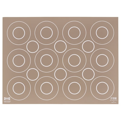 BAKTRADITION Baking mat, beige, 41x31 cm