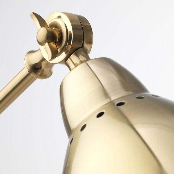 BAROMETER Work lamp, brass-colour