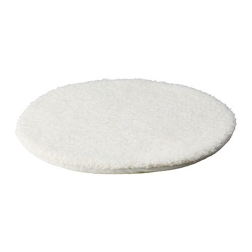 BERTIL Chair pad   Polyurethane foam provides great comfort and long-lasting support.  The anti-slip backing keeps the chair pad firmly in place.