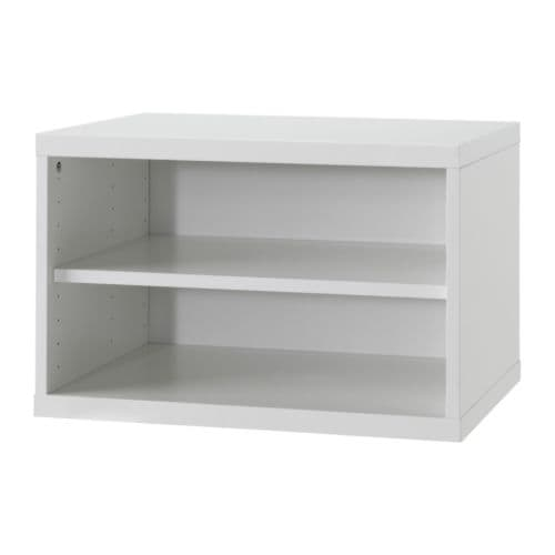 BESTÅ Shelf unit/height extension unit   1 adjustable shelf; adjust spacing according to your own needs.