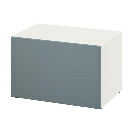 Delightful BESTÅ Shelf Unit With Door   White/Selsviken High Gloss/white   IKEA