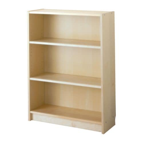 BILLY Bookcase   Adjustable shelves; adapt space between shelves according to your needs.