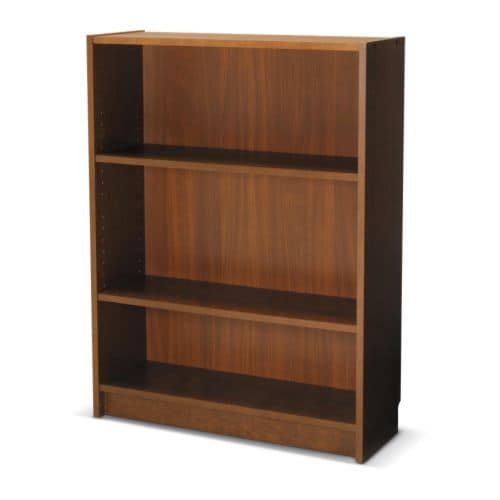 BILLY Bookcase   Adjustable shelves; adapt space between shelves according to your needs. Veneered surface; gives a natural look and feel.