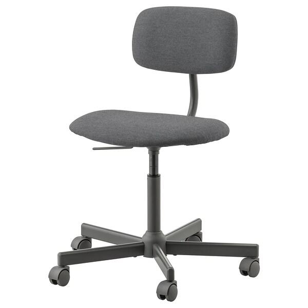 BLECKBERGET swivel chair Idekulla dark grey 110 kg 68 cm 68 cm 87 cm 47 cm 43 cm 46 cm 57 cm