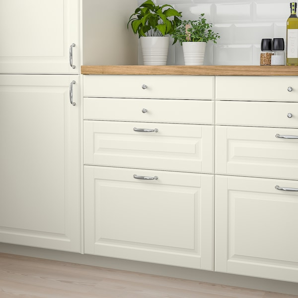 BODBYN Drawer front, off-white, 80x40 cm