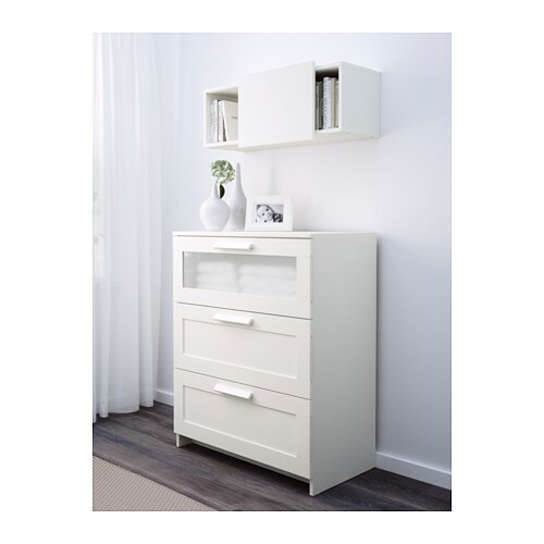 BRIMNES Wall cabinet with sliding door - IKEA