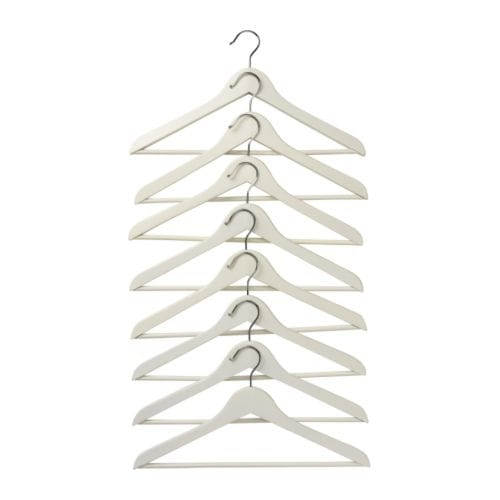 BUMERANG Curved clothes hanger