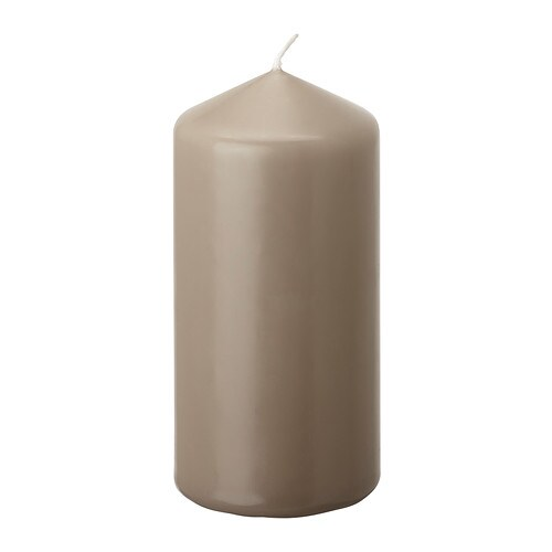 DAGLIGEN Unscented block candle