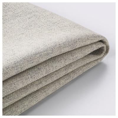 DELAKTIG Cover for seat cushion, 2-seat sofa, Gunnared beige