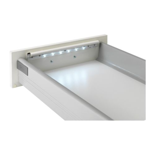 DIODER LED battery-operated lamp f drawer   LED; emits low heat and can be used in narrow spaces such as drawers, shelves and wardrobes.