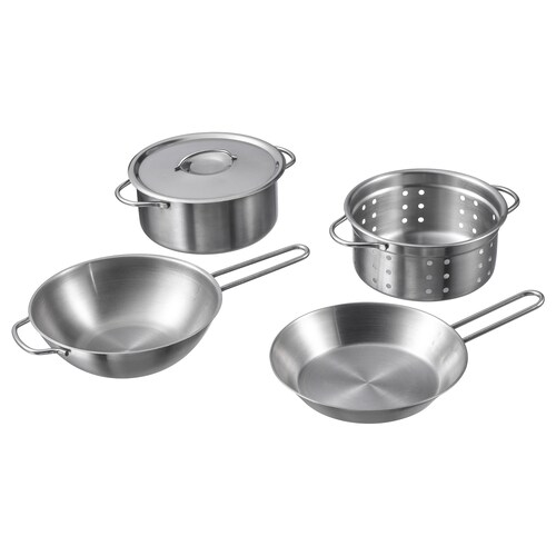 IKEA DUKTIG 5-piece toy cookware set
