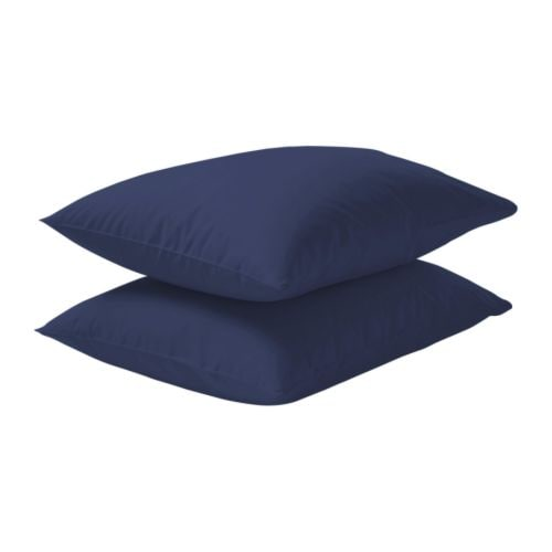 DVALA Pillowcase   Cotton, feels soft and nice against your skin.