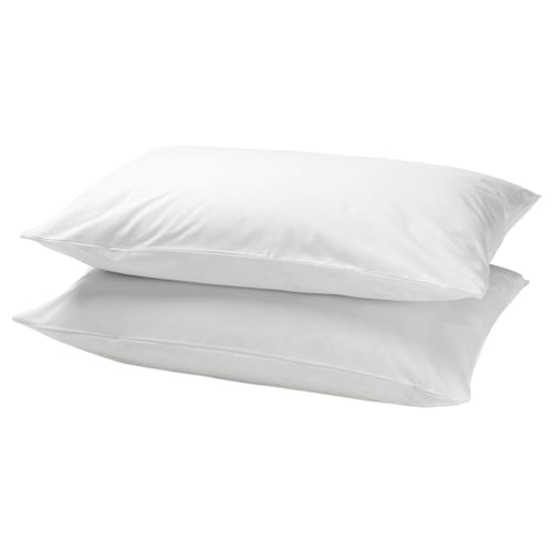 DVALA pillowcase white 152 /inch² 1 pieces 50 cm 80 cm 2 pieces