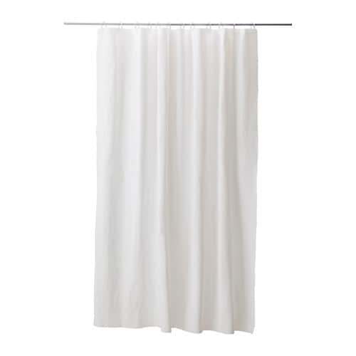 EGGEGRUND Shower curtain   Can be easily cut to the desired length.