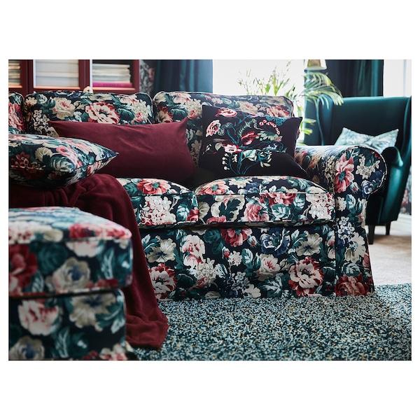 EKTORP three-seat sofa Lingbo multicolour 218 cm 88 cm 88 cm 49 cm 45 cm