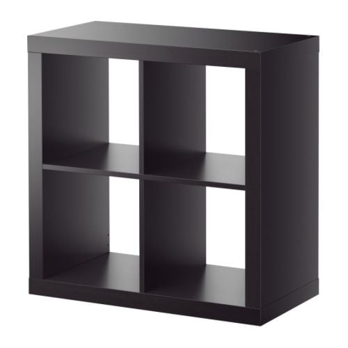 EXPEDIT Shelving unit   Can be hung on the wall or placed on the floor; choose what fits your needs best.
