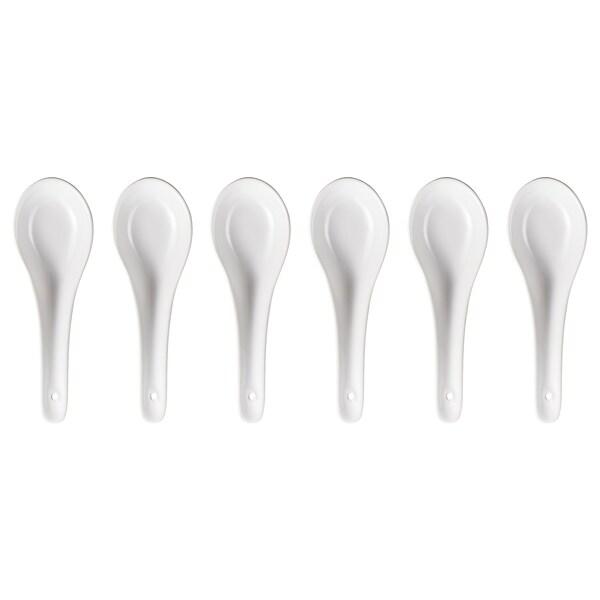 FÄRGRIK Spoon, white