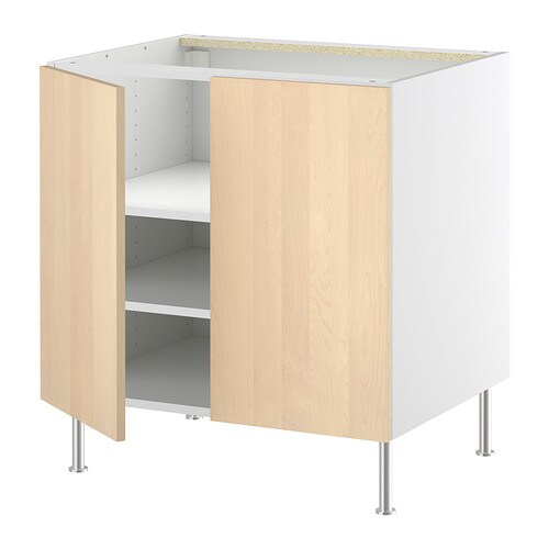 FAKTUM Base cabinet with shelves/2 doors   You can customise spacing as you need, becau