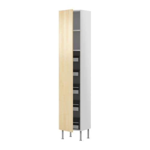 FAKTUM High cabinet with drawers/shelves   Adjustable shelf; adapt spacing to your own storage needs.