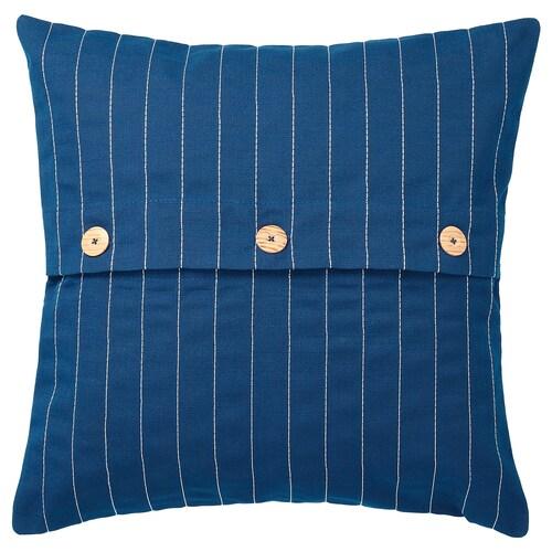 FESTHOLMEN cushion cover, in/outdoor dark blue 50 cm 50 cm