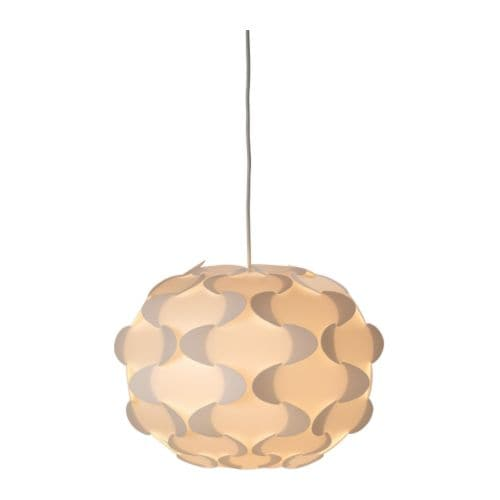 FILLSTA Pendant lamp   Diffused light that provides good general light in the room.