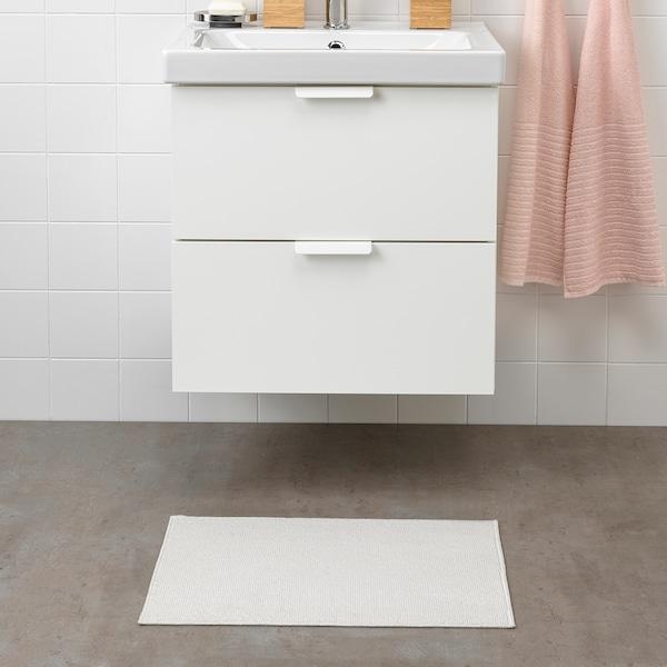 FINTSEN bath mat white 60 cm 40 cm 0.24 m² 1050 g/m²