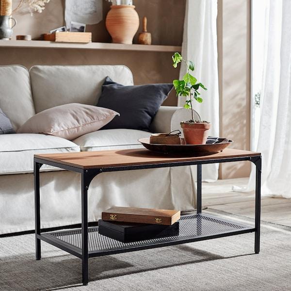 Fjallbo Coffee Table Black Ikea