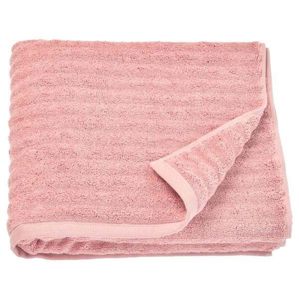FLODALEN bath towel light pink 700 g/m² 140 cm 70 cm 0.98 m²