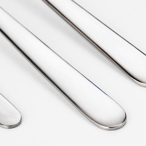 FÖRNUFT 18-piece cutlery set, stainless steel